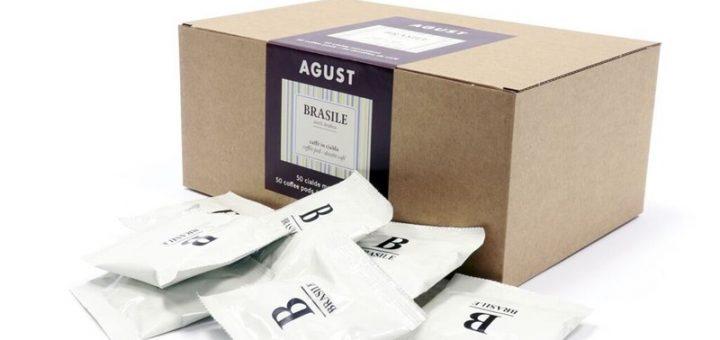 ESE kaffe puder Agust Brasile Arabica 50 stk CoffeeShoppen 720x340 - Mangler I lækker kaffe på kontoret?
